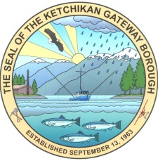 The Seal of the Ketchikan Gateway Borough