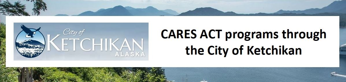 City of Ketchikan logo for CARES ACT PROGRAMS 2